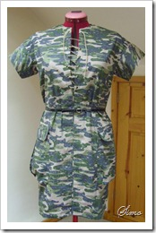 Burda issue February 2011 – dress pattern 120 completed:)