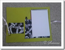 notepad cover inside