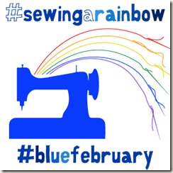 Blue February Badge #sewcialists
