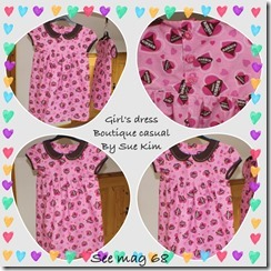 sew68 girl dress