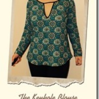 The Keyhole Blouse of Love Sewing -Issue 23