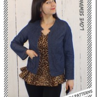 A Denim Jacket from Love Sewing–Simple Sew Pattern