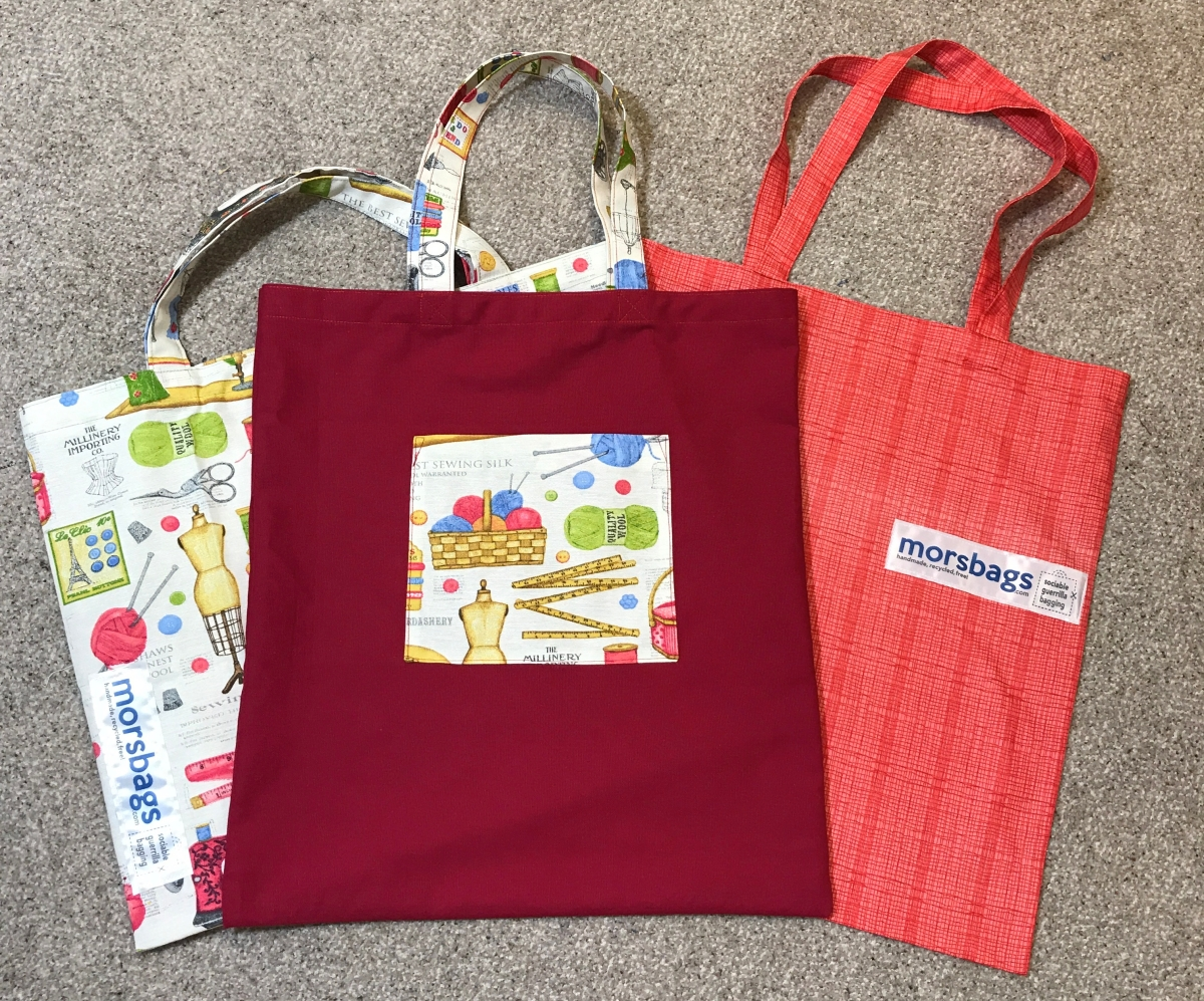 MorsBags – Sustainable Sewing and Using up Fabric