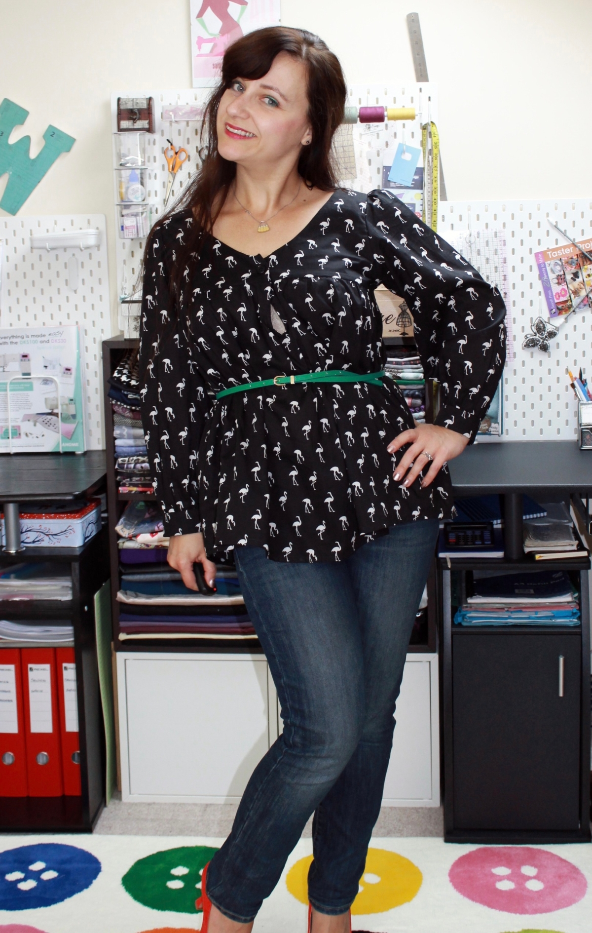 Valley Blouse –#SewMyStyle