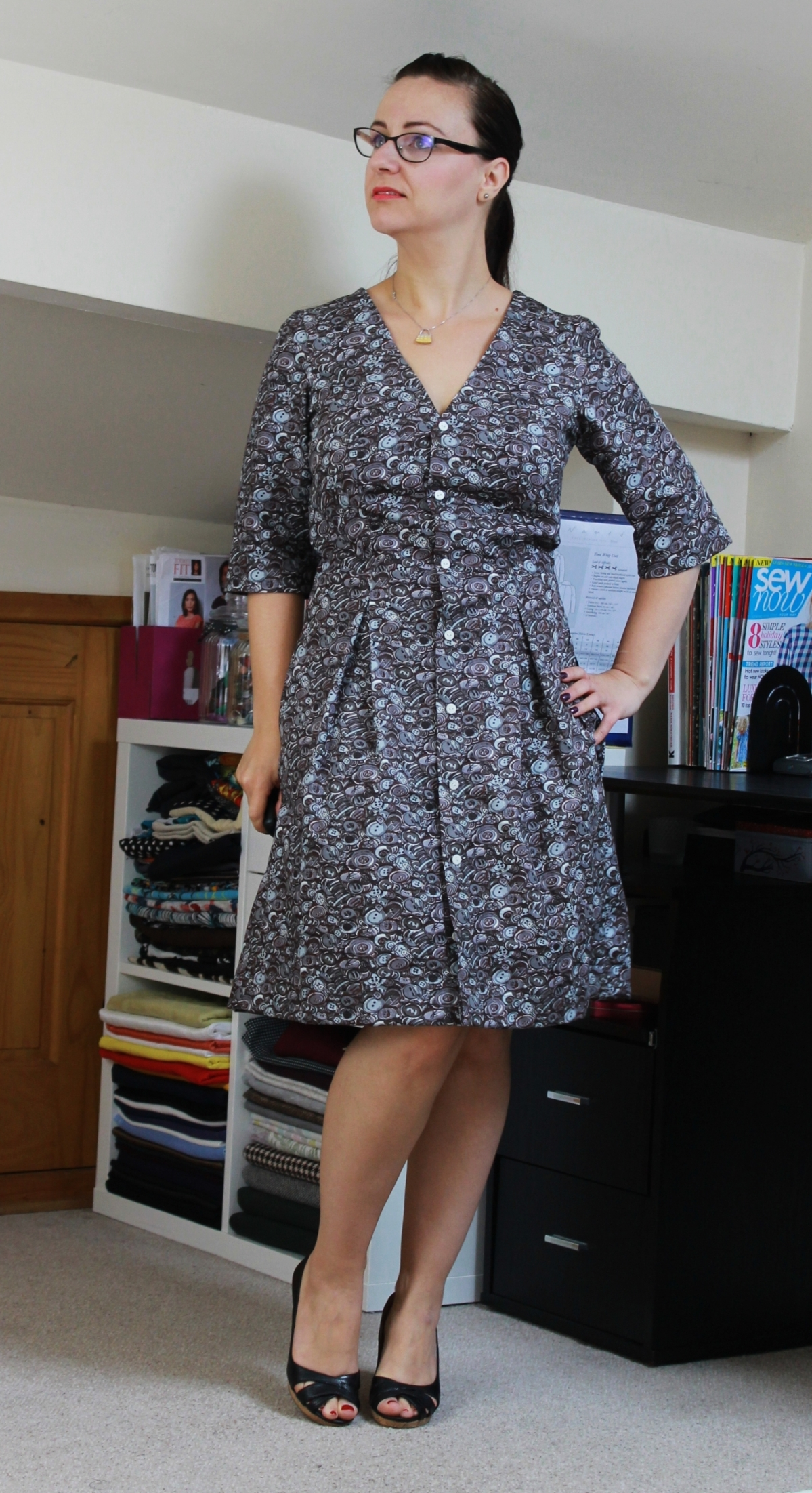 Darling Ranges Dress#SewMyStyle